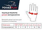 Велорукавички PowerPlay 002 B Червоні XL, фото 5