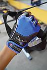 Перчатки для фитнеса и тяжелой атлетики Power System Woman's Power PS-2570 женские Blue XL, фото 10