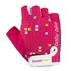 Велорукавички PowerPlay 5451 Рожево-білі 2XS, фото 5