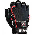 Перчатки для фитнеса и тяжелой атлетики Power System Man's Power PS-2580 S Black, фото 4