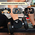 Перчатки для фитнеса и тяжелой атлетики Power System Man's Power PS-2580 S Black, фото 8