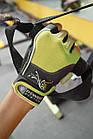 Перчатки для фитнеса и тяжелой атлетики Power System Woman's Power PS-2570 S Green, фото 6