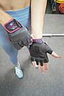 Перчатки для фитнеса и тяжелой атлетики Power System Cute Power PS-2560 женские XS Pink, фото 9