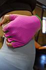 Рукавички для фітнесу PowerPlay 418 жіночі Розові S, фото 9