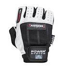 Перчатки для фитнеса и тяжелой атлетики Power System Fitness PS-2300 S Black/White, фото 2