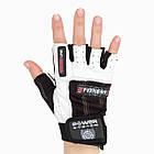 Перчатки для фитнеса и тяжелой атлетики Power System Fitness PS-2300 S Black/White, фото 4