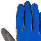 Велорукавички PowerPlay 6566 Сині XL, фото 5
