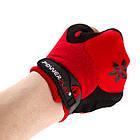 Велорукавички PowerPlay 5284 A Червоні M, фото 5