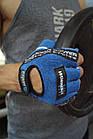 Перчатки для фитнеса и тяжелой атлетики Power System Workout PS-2200 S Blue, фото 10