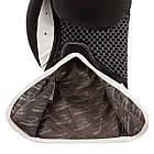 Боксерські рукавиці PowerPlay 3011 Чорно-Білі карбон 16 унцій, фото 4