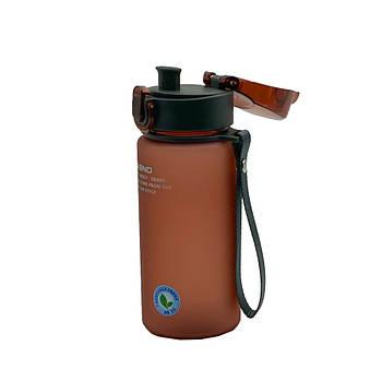 Пляшка для води CASNO 400 мл KXN-1114 Фіолетова