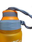 Пляшка для води CASNO 600 мл KXN-1116 Помаранчева, фото 5