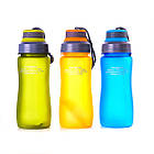 Пляшка для води CASNO 600 мл KXN-1116 Помаранчева, фото 7
