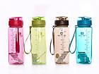 Пляшка для води CASNO 850 мл MX-5040 More Love Коричнева, фото 7