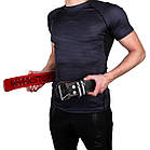 Пояс для важкої атлетики PowerPlay 5053 Чорно-Червоний XS, фото 9