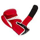 Боксерські рукавиці PowerPlay 3018 Червоні 10 унцій, фото 3