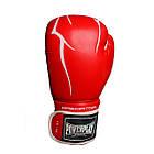 Боксерські рукавиці PowerPlay 3018 Червоні 10 унцій, фото 8