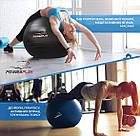 М'яч для фітнесу PowerPlay 4003 65см Сірий, фото 10