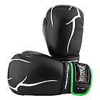Боксерські рукавиці PowerPlay 3018 Чорно-Зелені 8 унцій, фото 8