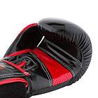 Боксерські рукавиці PowerPlay 3017 Чорні карбон 8 унцій, фото 2