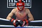 Боксерські рукавиці PowerPlay 3023 A Чорно-Червоні [натуральна шкіра] 10 унцій, фото 9
