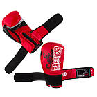 Боксерські рукавиці PowerPlay 3007 Червоні карбон 12 унцій, фото 6