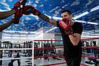 Боксерські рукавиці PowerPlay 3007 Червоні карбон 12 унцій, фото 8