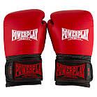 Боксерські рукавиці PowerPlay 3015 Червоні [натуральна шкіра] 14 унцій, фото 3