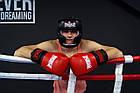Боксерські рукавиці PowerPlay 3015 Червоні [натуральна шкіра] 14 унцій, фото 7