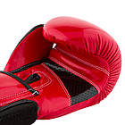 Боксерські рукавиці PowerPlay 3017 Червоні карбон 12 унцій, фото 3