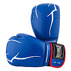 Боксерські рукавиці PowerPlay 3018 Сині 12 унцій, фото 8