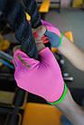 Рукавички для фітнесу PowerPlay 418 жіночі Розові M, фото 10