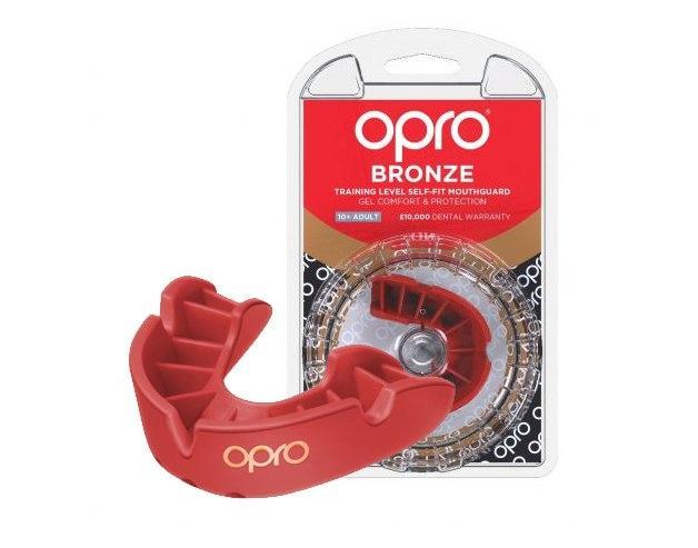 Капа OPRO Bronze Red (art.002219003)