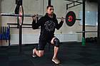 Наколенник спортивный OPROtec Knee Sleeve TEC5736-SM Черный S, фото 10