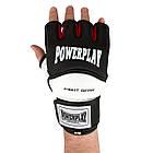 Рукавички для MMA PowerPlay 3075 Чорні-Білі XS, фото 7