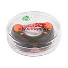 Капа боксерська PowerPlay 3315 SR Оранжево-Чорна MINT, фото 2