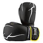 Боксерські рукавиці PowerPlay 3018 Чорно-Жовті 8 унцій, фото 8
