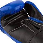 Боксерські рукавиці PowerPlay 3015 Сині [натуральна шкіра] 10 унцій, фото 4
