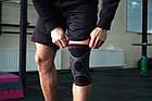 Наколенник спортивный OPROtec Knee Sleeve TEC5736-MD Черный M, фото 9