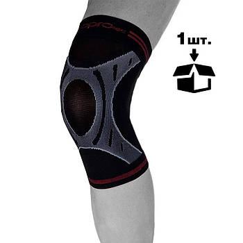 Наколенник спортивный OPROtec Knee Sleeve TEC5736-XL Черный  XL