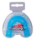 Капа боксерська PowerPlay 3307 SR Синя, фото 2