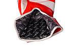Боксерські рукавиці PowerPlay 3023 A Червоно-Білі [натуральна шкіра] 12 унцій, фото 7
