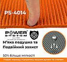 Коврик для йоги и фитнеса Power System  PS-4014 FITNESS-YOGA MAT Orange, фото 3
