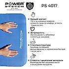 Коврик для йоги и фитнеса Power System  PS-4017 FITNESS-YOGA MAT Blue, фото 7