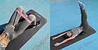 Коврик для йоги и фитнеса Power System  PS-4017 FITNESS-YOGA MAT Black, фото 6