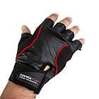 Рукавички для фітнесу PowerPlay 2227 Чорні XL, фото 2