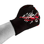 Рукавички для бігу PowerPlay 6607 Чорно-Червоні M, фото 3
