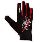 Рукавички для бігу PowerPlay 6607 Чорно-Червоні M, фото 4