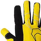Велорукавички PowerPlay 6556 Жовті XL, фото 4
