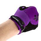 Велорукавички PowerPlay 5284 Фіолетові M, фото 5